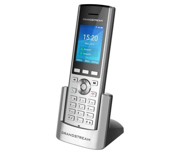 Grandstream Cordless wp-820 cordless wifi phone in Cradle